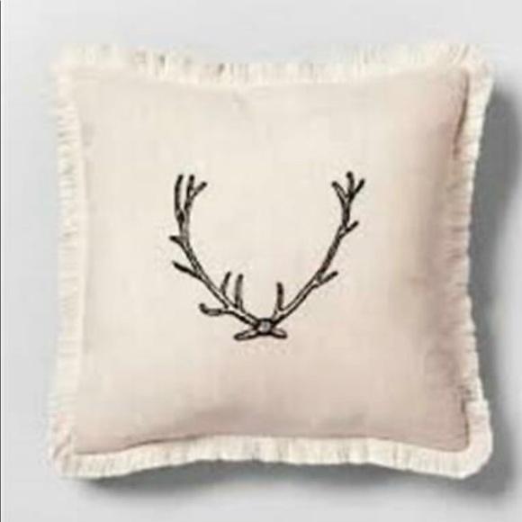 Magnolia Hearth & Hand Antler Throw Pillow